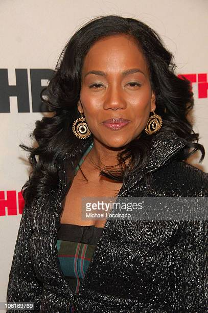 Actress Sonja Sohn arrives to HBO's New York premiere of The Wire at Chelsea West Cinema in New York City on January 4 2008