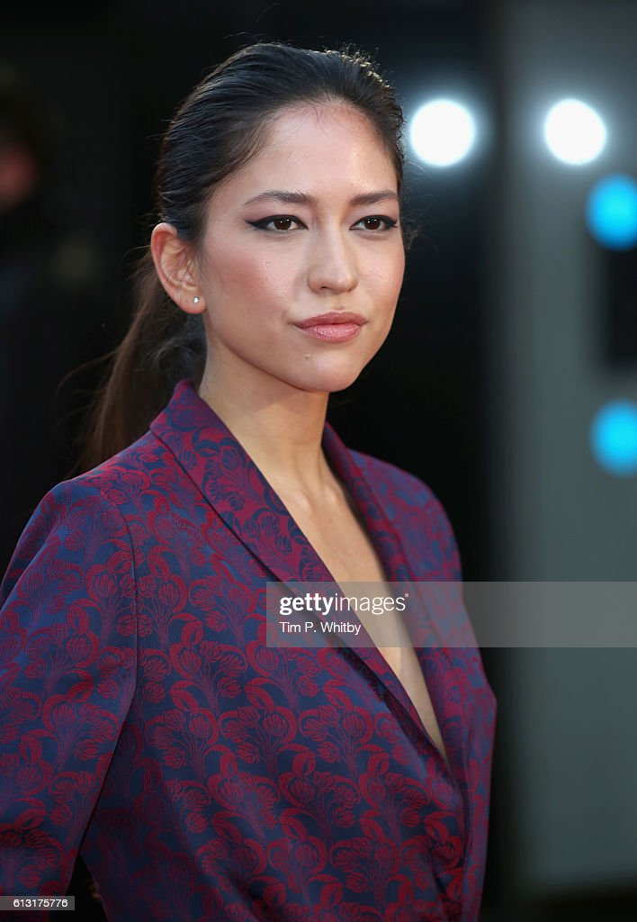 Actress Sonoya Mizuno attends the 'La La Land' Patrons Gala screening during the 60th BFI London Film Festival at the Odeon Leicester Square on October 7, 2016 in London, England.