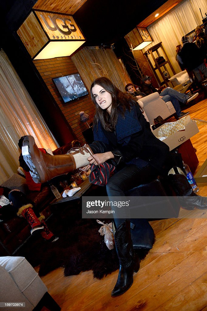 Actress Sonya Kinski attends Day 1 of UGG at Village At The Lift 2013 on January 18, 2013 in Park City, Utah.