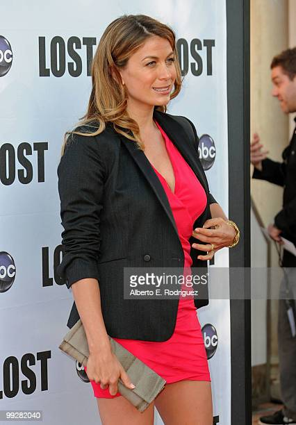 Actress Sonya Walger arrives at ABC's Lost Live The Final Celebration held at UCLA Royce Hall on May 13 2010 in Los Angeles California