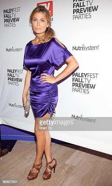 Actress Sonya Walger arrives at PaleyFest Fall TV Preview Parties Presented By TV Guide Magazine ABC at The Paley Center for Media on September 15...