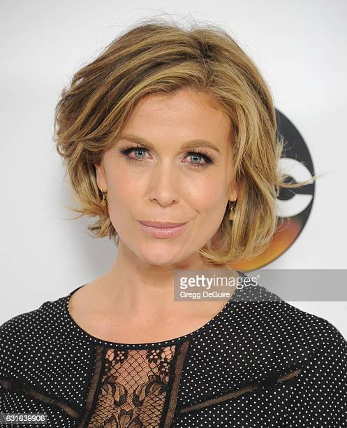 Actress Sonya Walger arrives at the 2017 Winter TCA Tour Disney/ABC at the Langham Hotel on January 10 2017 in Pasadena California