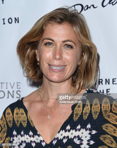 Actress Sonya Walger arrives at the premiere of 'The Journey Is The Destination' at Laemmle Monica Film Center on October 24 2017 in Santa Monica...