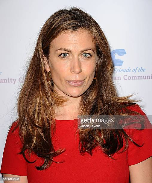 Actress Sonya Walger attends Saban Community Clinic's 37th annual benefit gala at The Beverly Hilton Hotel on November 25 2013 in Beverly Hills...