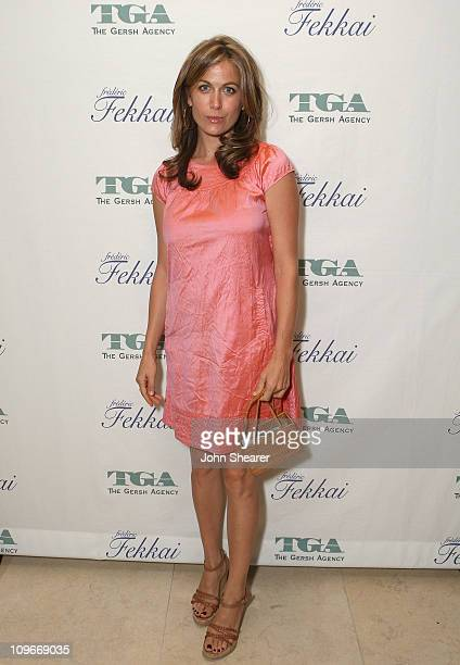 Actress Sonya Walger attends The Gersh Agency EMMY Party w/Special Guest Frederic Fekkai held at The Terrace at Sunset Tower Hotel on September 14...