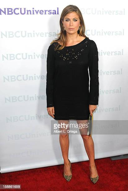 Actress Sonya Walger participates in the NBC Universal Winter Tour AllStar Party held at The Athenaeum on January 06 2012in Pasadena California