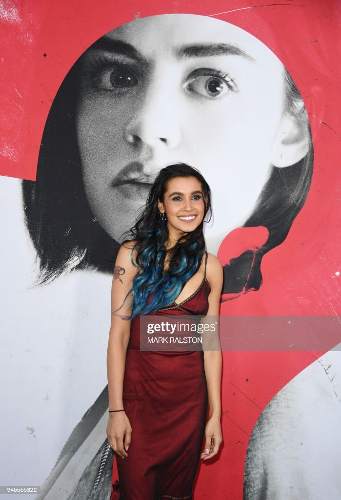 Actress Sophia Ali arrives for the premiere of Universal Pictures' 'Blumhouse's Truth or Dare' at the ArcLight Cinemas Dome in Hollywood, California on April 12, 2018. / AFP PHOTO / Mark Ralston