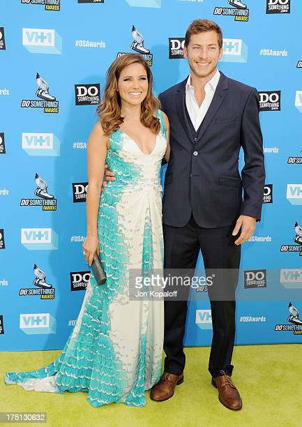 Actress Sophia Bush and Dan Fredinburg arrive at the 2013 Do Something Awards at Avalon on July 31, 2013 in Hollywood, California.