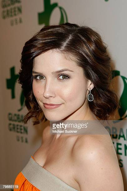 Actress Sophia Bush arrives at Global Green USA's 5th Annual Awards Season Celebration at Avalon on February 21 2008 in Hollywood California