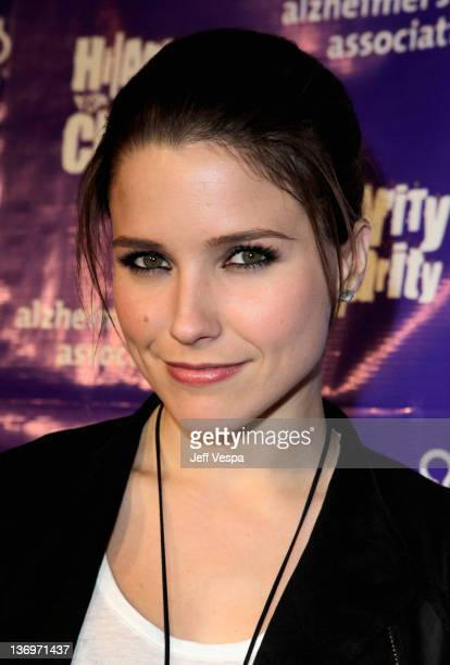 """Actress Sophia Bush arrives at """"Hilarity For Charity"""" To Benefit The Alzheimer's Association at Vibiana on January 13, 2012 in Los Angeles,..."""
