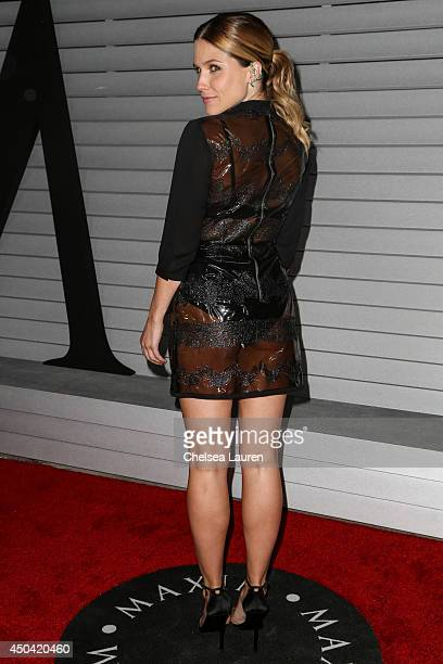 Actress Sophia Bush arrives at Maxim Hot 100 at Pacific Design Center on June 10 2014 in West Hollywood California