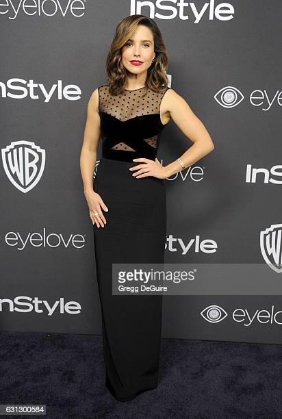 Actress Sophia Bush arrives at the 18th Annual PostGolden Globes Party hosted by Warner Bros Pictures and InStyle at The Beverly Hilton Hotel on...