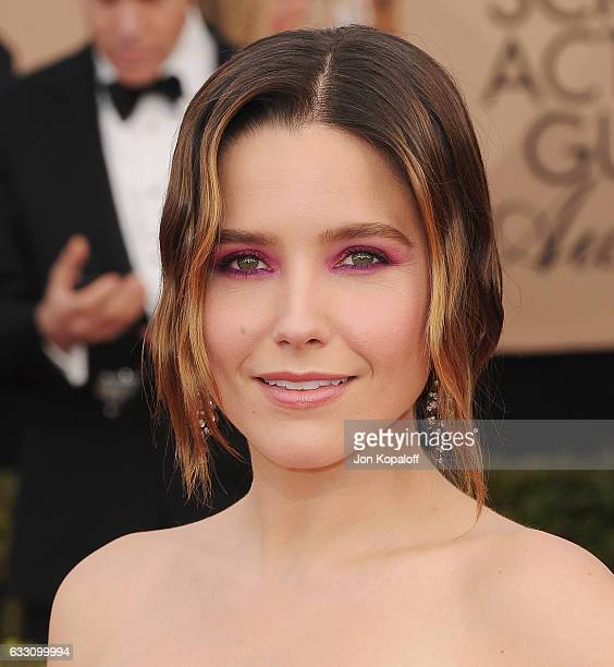 Actress Sophia Bush arrives at the 23rd Annual Screen Actors Guild Awards at The Shrine Expo Hall on January 29 2017 in Los Angeles California