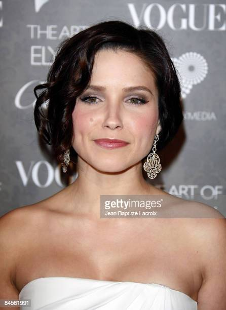 Actress Sophia Bush arrives at the Art of Elysium 2nd Annual Heaven Gala held at Vibiana on January 10, 2009 in Los Angeles, California.