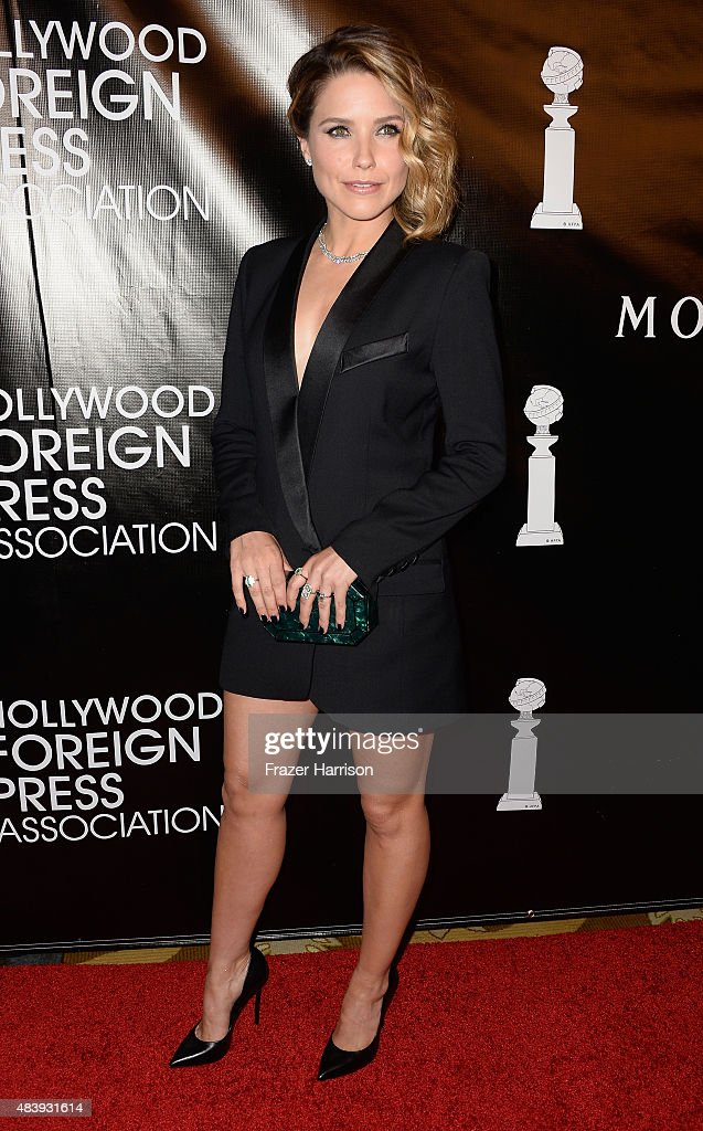 Actress Sophia Bush arrives at the Hollywood Foreign Press Association Hosts Annual Grants Banquet at the Beverly Wilshire Four Seasons Hotel on August 13, 2015 in Beverly Hills, California.