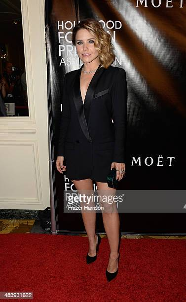 Actress Sophia Bush arrives at the Hollywood Foreign Press Association Hosts Annual Grants Banquet at the Beverly Wilshire Four Seasons Hotel on...