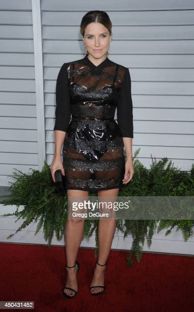 Actress Sophia Bush arrives at the MAXIM Hot 100 celebration event at Pacific Design Center on June 10 2014 in West Hollywood California