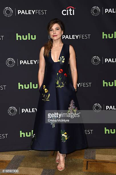 Actress Sophia Bush arrives at The Paley Center For Media's 33rd Annual PaleyFest Los Angeles presentation of 'An Evening with Dick Wolf with the...