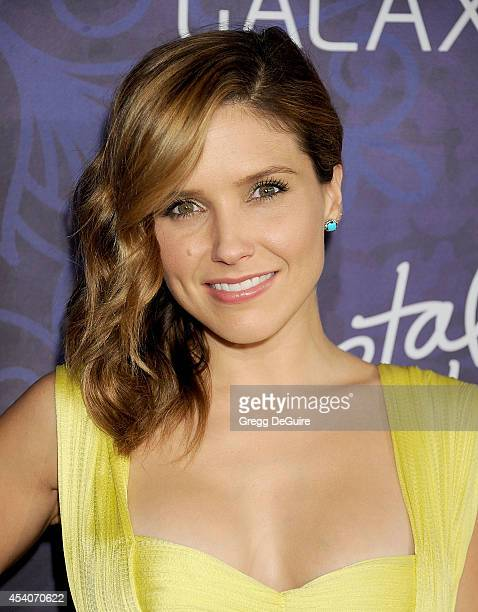 Actress Sophia Bush arrives at the Variety And Women In Film Annual PreEmmy Celebration at Gracias Madre on August 23 2014 in West Hollywood...