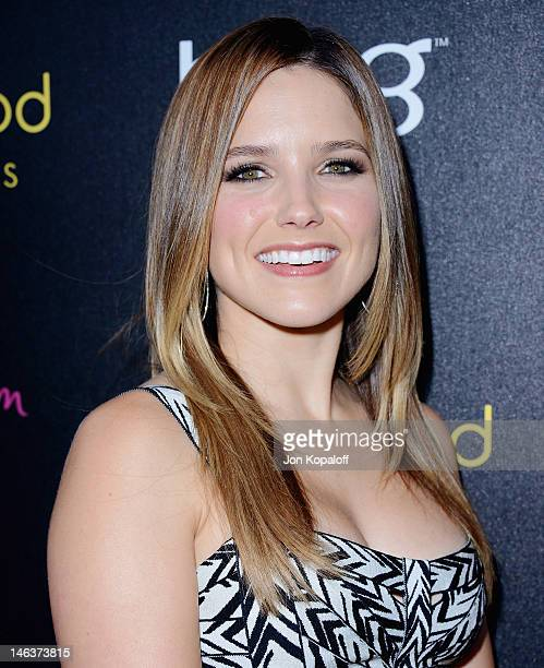 Actress Sophia Bush arrives at the Young Hollywood Awards at Hollywood Athletic Club on June 14, 2012 in Hollywood, California.