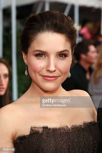 Actress Sophia Bush arrives to the TNT/TBS broadcast of the 14th Annual Screen Actors Guild Awards at the Shrine Auditorium on January 27 2008 in Los...