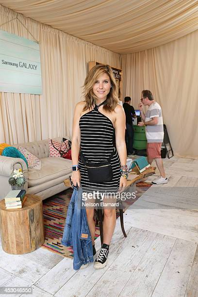 Actress Sophia Bush at the Samsung Galaxy Artist Lounge at Lollapalooza at Grant Park on August 1 2014 in Chicago Illinois