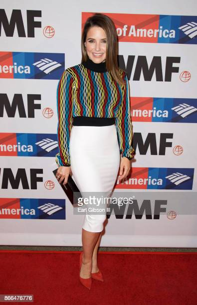 Actress Sophia Bush attends International Women's Media Foundation 2017 Courage In Journalism Awards at NeueHouse Hollywood on October 25 2017 in Los...