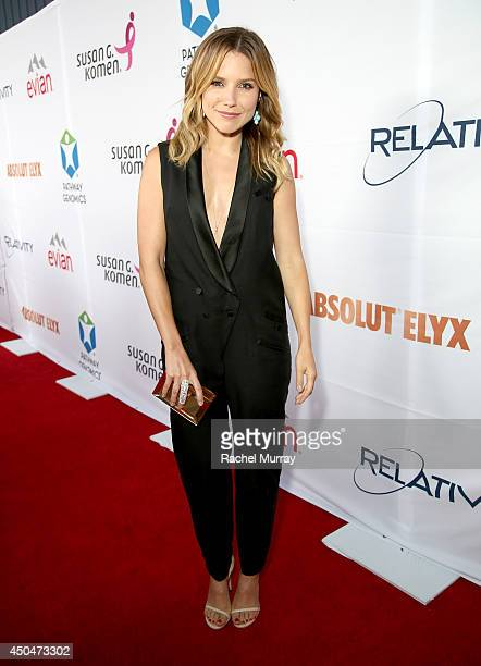 Actress Sophia Bush attends PATHWAY TO THE CURE A fundraiser benefiting Susan G Komen presented by Pathway Genomics Relativity Media and evian...