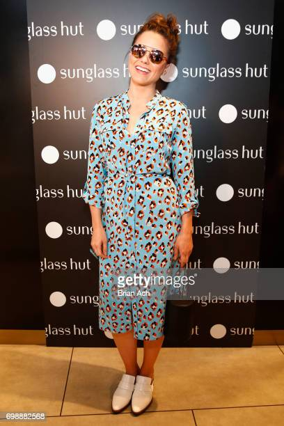 300e083aad Actress Sophia Bush attends Sunglass Hut s  Made For Summer  event  featuring Sophia Bush at