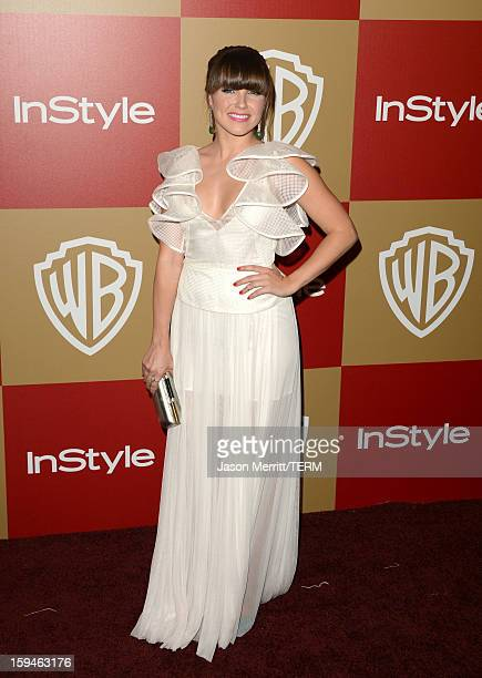 Actress Sophia Bush attends the 14th Annual Warner Bros And InStyle Golden Globe Awards After Party held at the Oasis Courtyard at the Beverly Hilton...