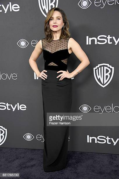 Actress Sophia Bush attends the 18th Annual PostGolden Globes Party hosted by Warner Bros Pictures and InStyle at The Beverly Hilton Hotel on January...
