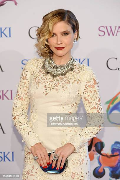 Actress Sophia Bush attends the 2014 CFDA fashion awards at Alice Tully Hall, Lincoln Center on June 2, 2014 in New York City.