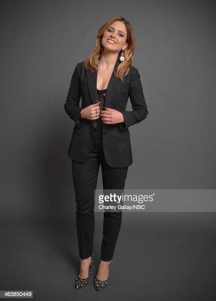 Actress Sophia Bush attends the 2014 NBCUniversal TCA Winter Press Tour Portraits at Langham Hotel on January 19 2014 in Pasadena California