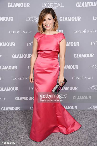 Actress Sophia Bush attends the 2015 Glamour Women Of The Year Awards at Carnegie Hall on November 9 2015 in New York City