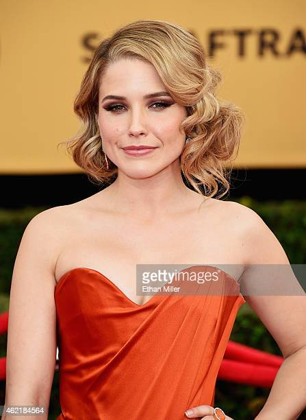 Actress Sophia Bush attends the 21st Annual Screen Actors Guild Awards at The Shrine Auditorium on January 25 2015 in Los Angeles California