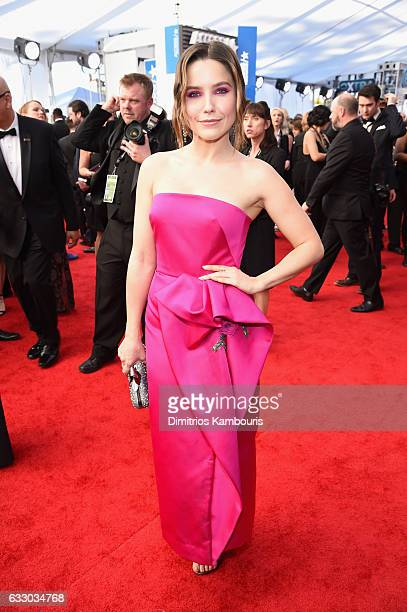 Actress Sophia Bush attends The 23rd Annual Screen Actors Guild Awards at The Shrine Auditorium on January 29 2017 in Los Angeles California 26592_009