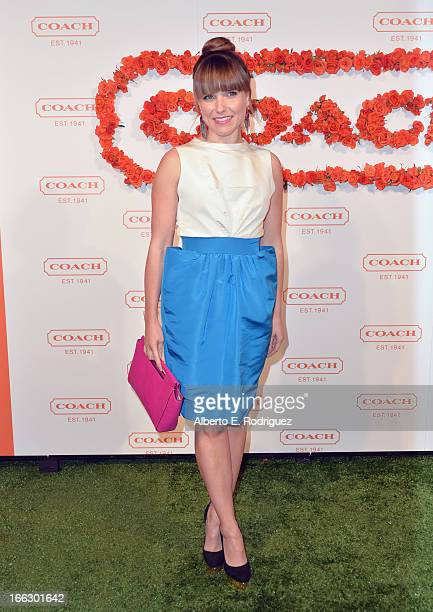 Actress Sophia Bush attends the 3rd Annual Coach Evening to benefit Children's Defense Fund at Bad Robot on April 10 2013 in Santa Monica California