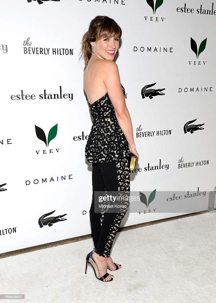 Actress Sophia Bush attends The Beverly Hilton unveiling of the redesigned Aqua Star Pool By Estee Stanley at The Beverly Hilton Hotel on May 22, 2013 in Beverly Hills, California.