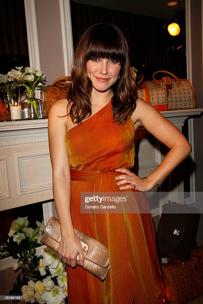 Actress Sophia Bush attends the Dukes Of Melrose launch hosted by Decades, Harper's BAZAAR, and MCM on February 28, 2013 in Los Angeles, California.