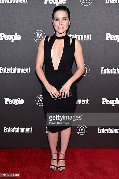 Actress Sophia Bush attends the Entertainment Weekly People Upfronts party 2016 at Cedar Lake on May 16 2016 in New York City