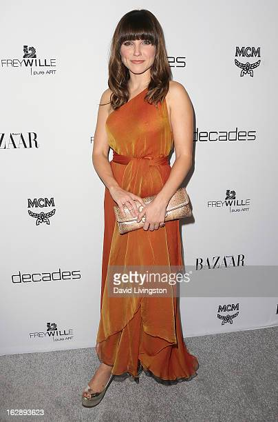 Actress Sophia Bush attends the Harper's BAZAAR celebration of Cameron Silver and Christos Garkinos of Decades new Bravo series Dukes of Melrose at...