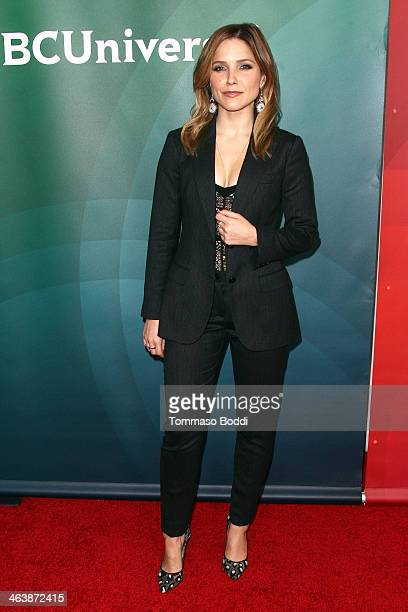 Actress Sophia Bush attends the NBC/Universal 2014 TCA Winter Press Tour held at The Langham Huntington Hotel and Spa on January 19 2014 in Pasadena...