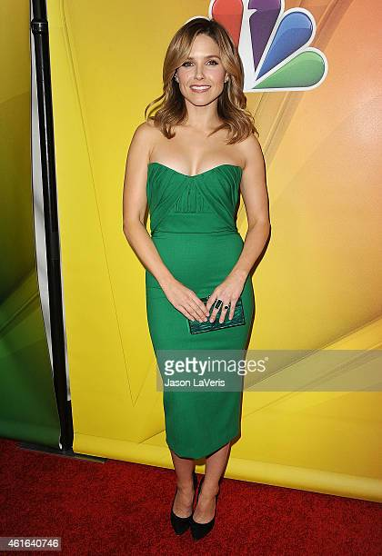Actress Sophia Bush attends the NBCUniversal 2015 press tour at The Langham Huntington Hotel and Spa on January 16 2015 in Pasadena California