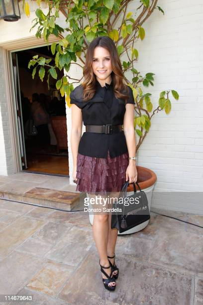 Actress Sophia Bush attends the PS ARTS Bag Lunch Sponsored By Dior Beauty held at a Private Residence on May 24 2011 in Santa Monica California
