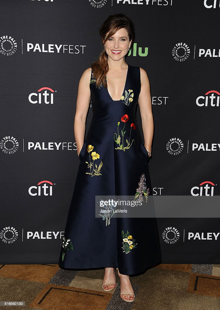 Actress Sophia Bush attends the salute to Dick Wolf at the 33rd annual PaleyFest at Dolby Theatre on March 19, 2016 in Hollywood, California.
