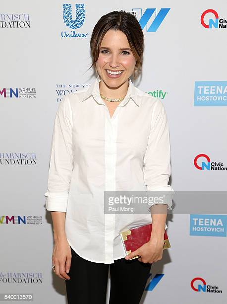 Actress Sophia Bush attends The United State of Women Reception hosted by Civic Nation at HayAdams Hotel on June 13 2016 in Washington DC