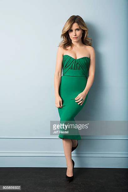 Actress Sophia Bush is photographed for TV Guide Magazine on January 16 2015 in Pasadena California