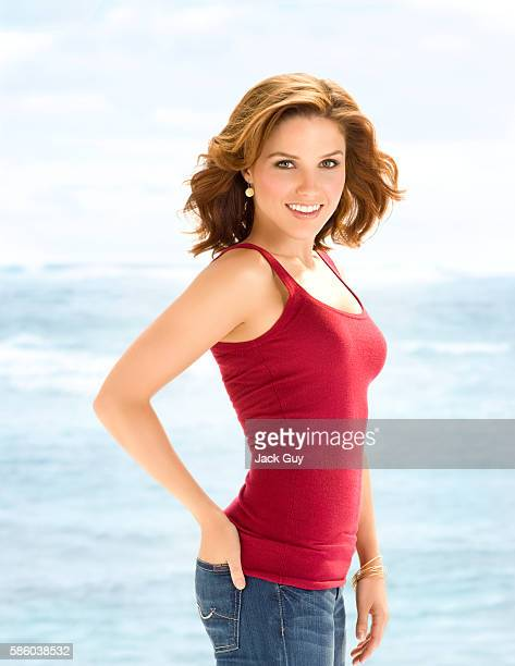 Actress Sophia Bush is photographed Health Magazine in 2008 in Los Angeles California COVER IMAGE