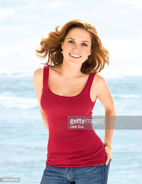 Actress Sophia Bush is photographed Health Magazine in 2008 in Los Angeles California