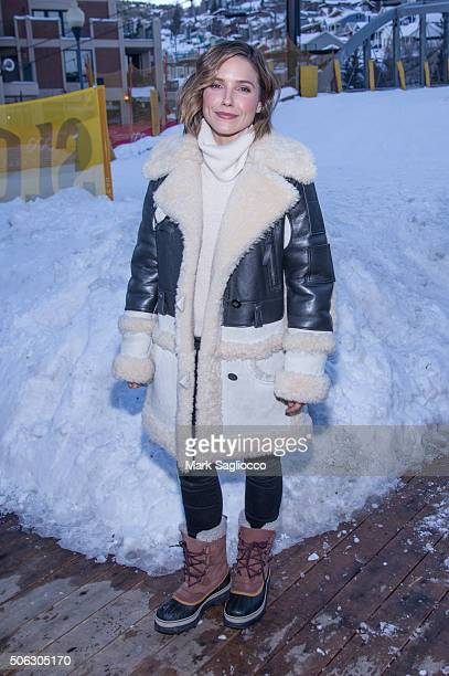 Actress Sophia Bush is sighted at the Sundance Film Festival on January 22 2016 in Park City Utah